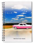 1955 Ford Crown Victoria Sweet Spiral Notebook