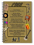 1955 Great Events Spiral Notebook