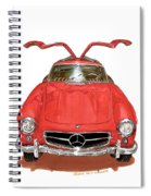 1955 Mercedes Benz 300 S L  Spiral Notebook
