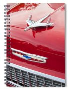 1955 Red Chevy Spiral Notebook