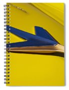 1955 Studebaker President Starlighter Hood Ornament Spiral Notebook