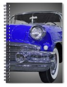 1956 Buick Special Riviera Coupe-blue Spiral Notebook