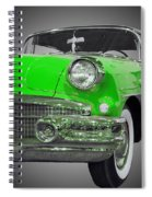 1956 Buick Special Riviera Coupe-green Spiral Notebook