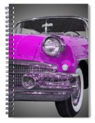 1956 Buick Special Riviera Coupe-purple Spiral Notebook