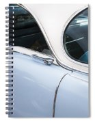 1956 Cadilac Sedan De Ville Spiral Notebook