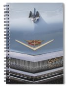 1956 Cadilac Sedan De Ville Smiling Spiral Notebook
