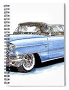 1956 Cadillac Coupe De Ville Spiral Notebook