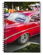 1956 Chevrolet Bel Air 210 Spiral Notebook