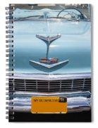 1956 Chevrolet Bel Air Spiral Notebook