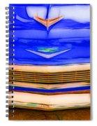 1956 Chevy - Blue Spiral Notebook