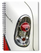 1956 Chevy Taillight Spiral Notebook