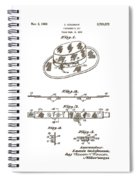 1956 Fisherman's Hat Patent Spiral Notebook