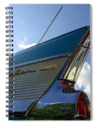 1957 Chevrolet Bel Air Fin Spiral Notebook