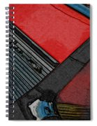 1957 Chevrolet Bel Air Spiral Notebook