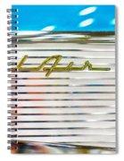 1957 Chevy Bel Air Emblem Spiral Notebook