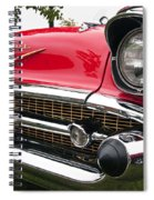 1957 Chevy Bel Air Front End Spiral Notebook