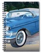 1957 Chevy Convertible Spiral Notebook