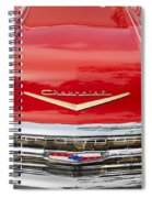 1957 Chevy Front End Spiral Notebook