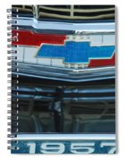 1957 Chevy Front Spiral Notebook