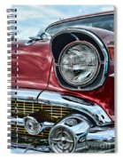 1957 Chevy - My Classic Car Spiral Notebook