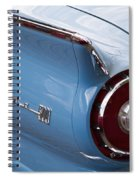 1957 Fairlane 500 Spiral Notebook