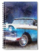 1957 Ford Classic Car Photo Art 02 Spiral Notebook