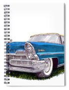1957 Lincoln Premiere Convert Spiral Notebook
