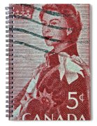 1957 St. Lawrence Seaway Opening Stamp Spiral Notebook