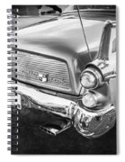 1957 Studebaker Golden Hawk Bw    Spiral Notebook