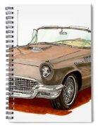 1957 Thunderbird Spiral Notebook