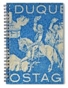 1958 Battle Of Fort Duquesne Stamp Spiral Notebook