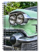 1958 Cadillac Headlights Spiral Notebook