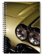 1958 Fancy Free Corvette J58s Spiral Notebook