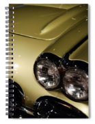 1958 Fancy Free Corvette J58s Spiral Notebook