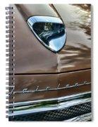 1958 Ford Fairlane 500 Skyliner Spiral Notebook