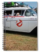 1958 Ford Suburban Ghostbusters Car Spiral Notebook
