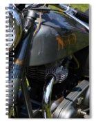 1958 Norton Dominator Spiral Notebook