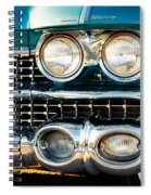 1959 Cadillac Sedan Deville Series 62 Grill Spiral Notebook