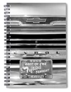 1959 Chevrolet Apache Bw 012315 Spiral Notebook
