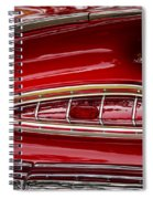 1959 Chevrolet Taillight Spiral Notebook