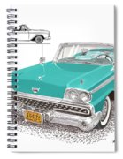 Retractable Hard Top Spiral Notebook