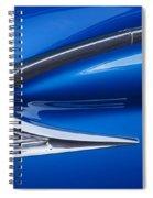 Blue Galaxie Spiral Notebook
