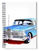 1959 Ford Edsel Ranger 4-door Sedan Spiral Notebook