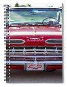 1959 Impala Hardtop Sport Coupe Spiral Notebook