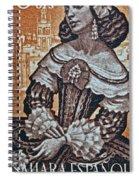 1959 Spanish Sahara Stamp Spiral Notebook