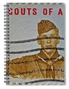 1960 Boy Scouts Stamp Spiral Notebook