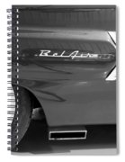1960 Chevrolet Bel Air 3bw 012315 Spiral Notebook