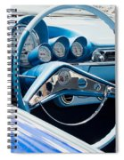 1960 Chevrolet Bel Air 4 012315 Spiral Notebook