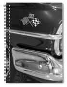 1960 Chevrolet Bel Air Bw 012315 Spiral Notebook
