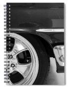 1960 Chevrolet Bel Air Bw2 012315 Spiral Notebook